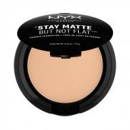 Пудра-основа NYX Professional Makeup Stay Matte But Not Flat Powder Foundation - MEDIUM BEIGE 06: фото