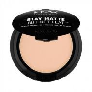 Пудра-основа NYX Professional Makeup Stay Matte But Not Flat Powder Foundation - NATURAL 03: фото