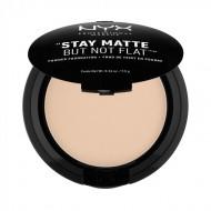 Пудра-основа NYX Professional Makeup Stay Matte But Not Flat Powder Foundation - NUDE 02: фото