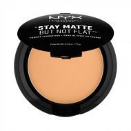 Пудра-основа NYX Professional Makeup Stay Matte But Not Flat Powder Foundation - SOFT BEIGE 05: фото