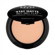 Пудра-основа NYX Professional Makeup Stay Matte But Not Flat Powder Foundation - WARM 17: фото