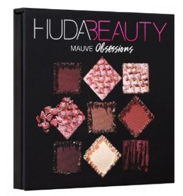 Палетка теней Huda Beauty OBSESSIONS PALETTE MAUVE: фото