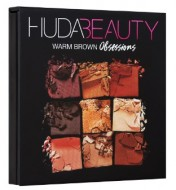 Палетка теней Huda Beauty OBSESSIONS PALETTE WARM BROWN: фото