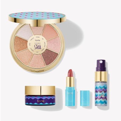 Набор для макияжа Tarte hydrate & glow beauty getaway set: фото