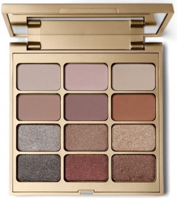 Палетка теней Stila Matte'n Metal Eye Shadow Palette: фото
