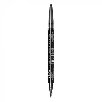 Лайнер для глаз NYX Professional Makeup Two Time Eye Liner 01: фото