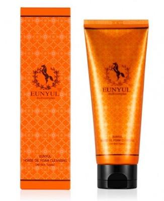 Пенка для умывания с лошадиным маслом EUNYUL Horse oil foam cleanser 150 мл: фото