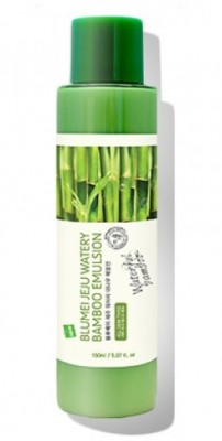 Увлажняющая эмульсия с экстрактом бамбука BLUMEI Jeju watery bamboo emulsion 150 мл: фото