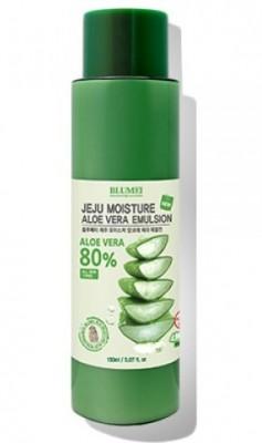 Увлажняющая эмульсия с алоэ BLUMEI Jeju moisture aloe 80% emulsion 150 мл: фото