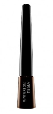 Подводка для глаз жидкая A'PIEU Ink eye liner BR01 коричневый: фото