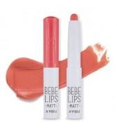 Губная помада матовая A'PIEU Bebe lips MRD03: фото