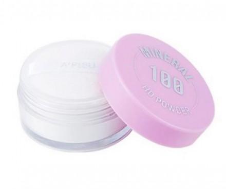 Пудра минеральная A'PIEU Mineral 100 HD powder: фото