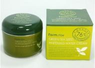 Осветляющий крем с семенами зеленого чая FARMSTAY Green tea seed whitening water cream 100 г: фото
