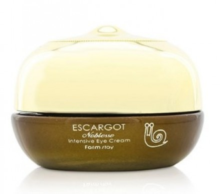 Крем для глаз против морщин с экстрактом королевской улитки FARMSTAY Escargot noblesse intensive eye cream 50 г: фото