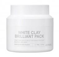 Очищающая маска для лица с белой глиной EUNYUL White clay brilliant pack 100 мл: фото