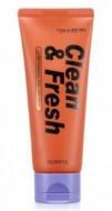 Маска-пленка для повышения упругости кожи EUNYUL Clean & fresh ultra firming peel off pack 120 мл: фото