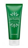Очищающая пенка с экстрактами альпийских трав SWISSPURE Alpine herb deep cleansing foam 250 мл: фото