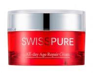 Антиоксидантный восстанавливающий крем SWISSPURE All-day age repair cream 50 мл: фото