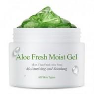 Крем-гель с экстрактом алоэ (для комбинированной, жирной кожи) THE SKIN HOUSE Aloe fresh moist gel 50мл: фото