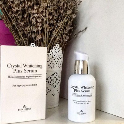 Ээссенция против пигментации THE SKIN HOUSE Crystal whitening plus serum 50мл: фото