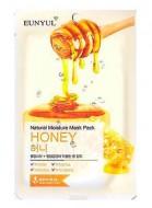 Тканевая маска с экстрактом меда EUNYUL Natural moisture mask pack royal jelly 23 мл: фото