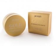 Гидрогелевые патчи для глаз с 24-каратным коллоидным золотом PETITFEE Gold hydrogel eye patch 60шт: фото