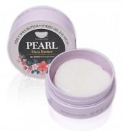 Патчи для глаз с маслом ши и жемчужной пудрой KOELF Hydro gel pearl & shea butter eye patch 60 шт: фото