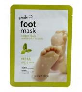 Смягчающая маска для ног THE FACE SHOP Smile Foot Mask: фото