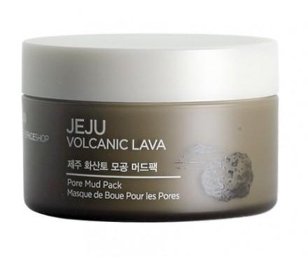 Маска для очищения пор THE FACE SHOP Jeju Volcanic Lava Pore Mud Pack: фото