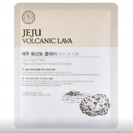 Тканевая маска с вулканической лавой THE FACE SHOP Jeju Volcanic Lava Clay Face Mask: фото
