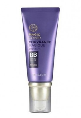 ВВ-крем с плотным покрытием THE FACE SHOP Face It Magic Cover BB Cream SPF20 №V201 Apricot Beige