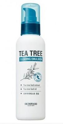 Эмульсия очищающая с экстрактом чайного дерева SKINFOOD Tea Tree Cleansing Emulsion: фото