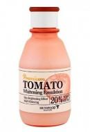 Осветляющая эмульсия с экстрактом томата SKINFOOD Premium Tomato Whitening Emulsion: фото