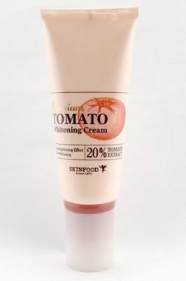 Крем осветляющий с экстрактом томата SKINFOOD Premium Tomato Whitening Cream 50г: фото