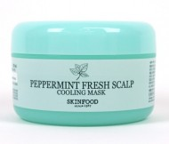 Охлаждающая маска с мятой для волос SKINFOOD Peppermint Fresh Scalp Cooling Mask: фото
