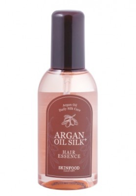 Эссенция для волосс маслом арганы SKINFOOD Argan Oil Silk+ Hair Essence: фото