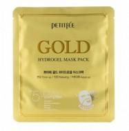Гидрогелевая маска для лица с золотом PETITFEE Gold hydrogel mask pack 32г: фото