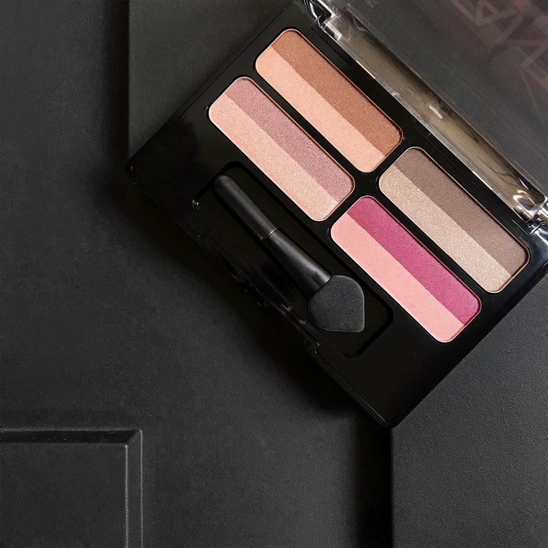 Палетка теней для век CATRICE Instant Glam Eyeshadow Palette, 010 It's A Match! розовый / кофейный: фото