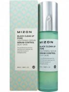 Отшелушивающая сыворотка для сужения пор MIZON Black Clean Up Pore Tightening Serum: фото