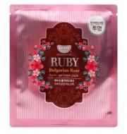 "Гидрогелевая маска ""рубин и масло розы"" KOELF Hydro gel mask pack (jewel series) ruby & bulgarian rose 30г: фото"