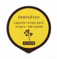 Капсульная маска для лица с экстрактом рапсового меда INNISFREE Сapsule Recipe Pack Canola Honey: фото
