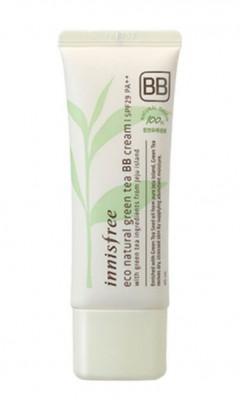 Натуральный ВВ-крем с зеленым чаем INNISFREE Eco Natural Green Tea BB-Cream SPF29 №2 Natural Beige