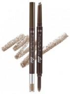 Двойной карандаш для бровей ETUDE HOUSE Drawing Eye Brow Duo №04 Red Brown: фото