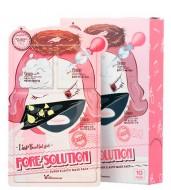Трехступенчатая маска для проблемной кожи ELIZAVECCA Pore Solution Super Elastic Mask Pack: фото