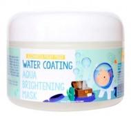 Увлажняющая маска для сияния кожи ELIZAVECCA Milky Piggy Water Coating Aqua Brightening Mask: фото