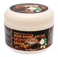 Паровой увлажняющий крем с маслом арганы ELIZAVECCA Milky Piggy Aqua Rising Argan Gelato Steam Cream: фото