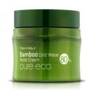 Крем охлаждающий с бамбуком TONY MOLY Pure eco bamboo cold water moist cream 200 мл: фото