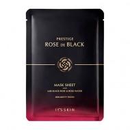 Маска тканевая для лица It's Skin Prestige Rose De Black увлажняющая, 23 мл: фото