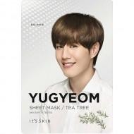 Анти-акне тканевая маска It's Skin Got7 YuGyeom Tea Tree Mask Sheet чайное дерево, 18г: фото