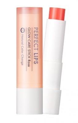 Оттеночный бальзам для губ TONY MOLY Perfect lips glow care stick 03 Rose